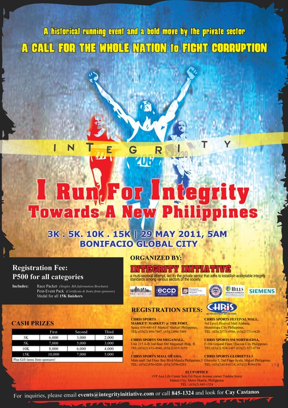 i run for integrity 2011 results