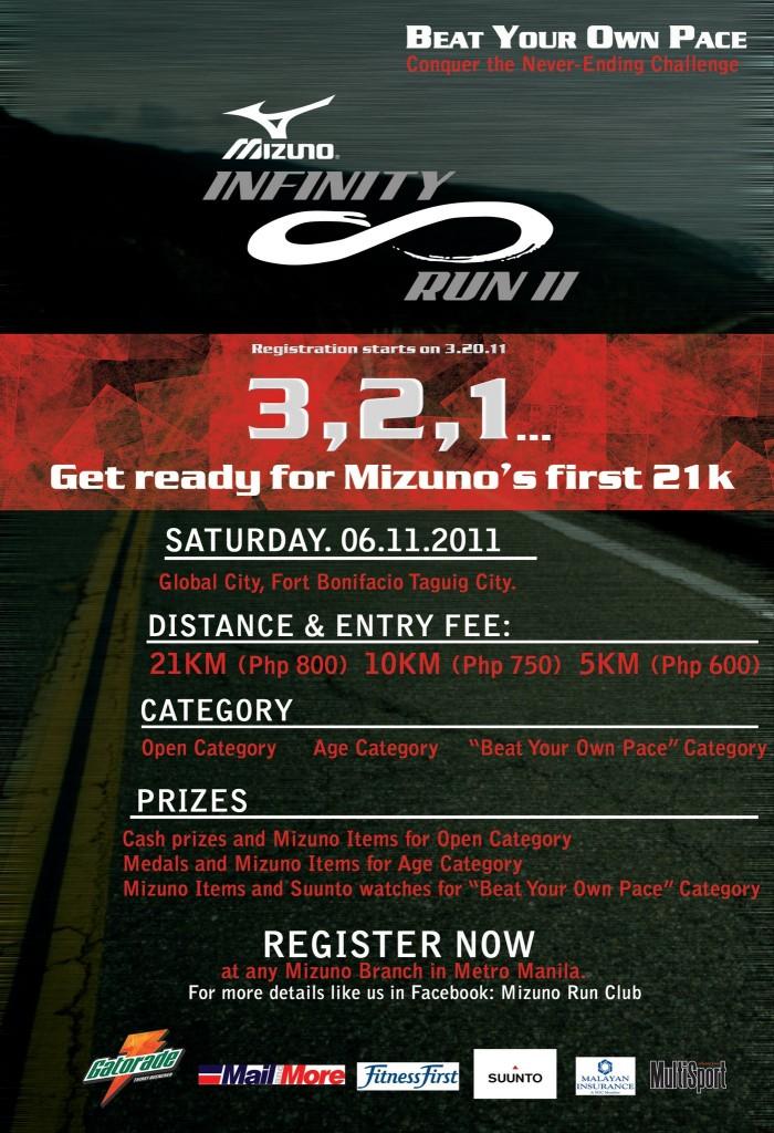 mizuno infinity run 2011 race results and photos