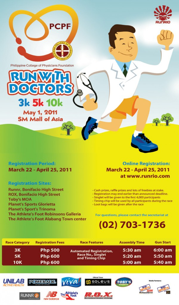 pcpf run with doctors race results