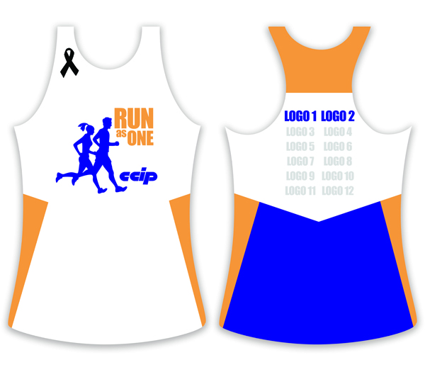 Run As One Singlet 2011