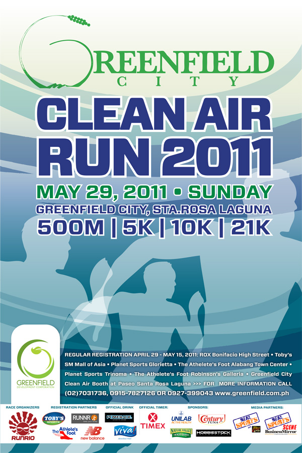 greenfield run 2011 race results poster