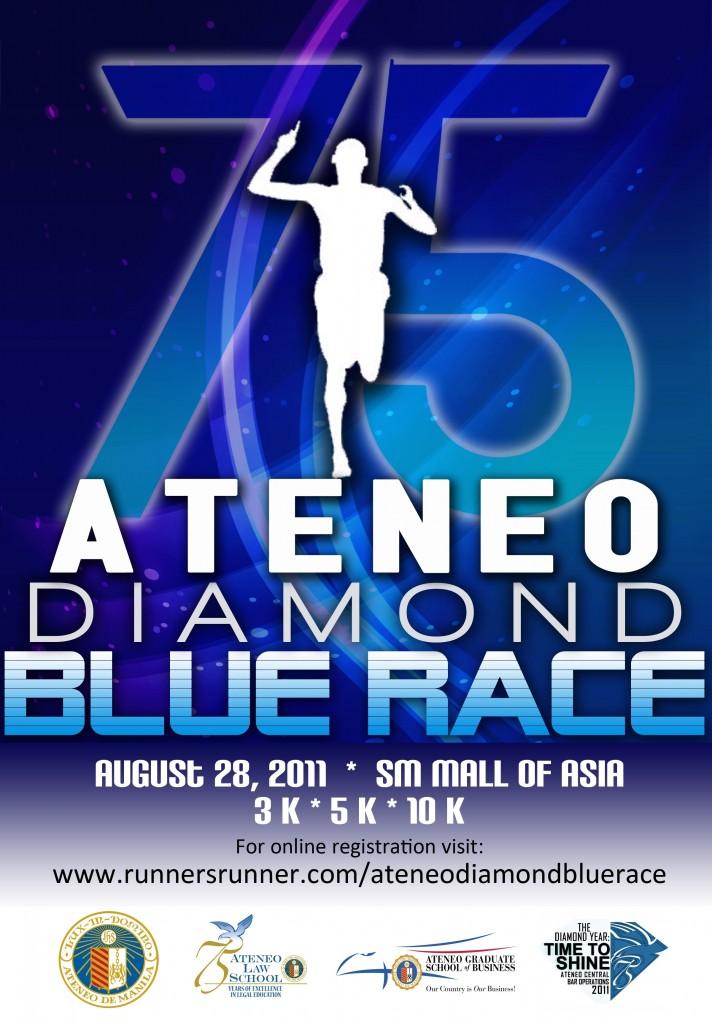 ateneo diamond race 2011 poster