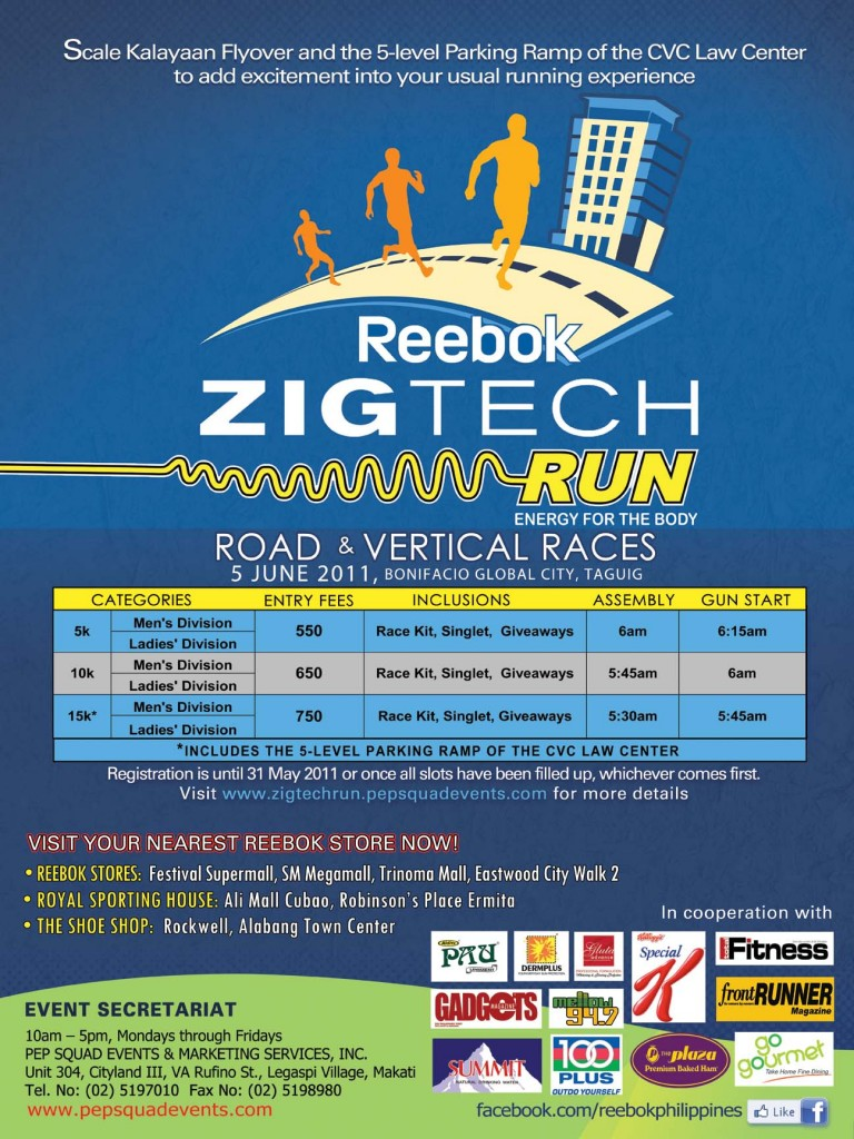 reebok zigtech fun run results