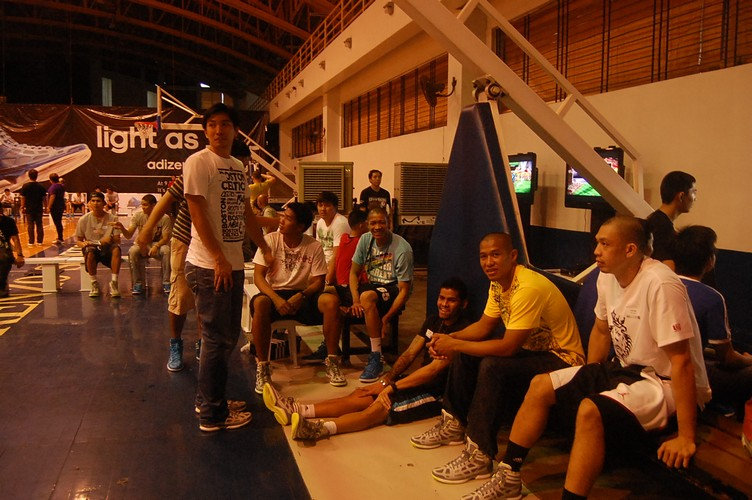 adiZero Crazy Light Philippines 2011 participants