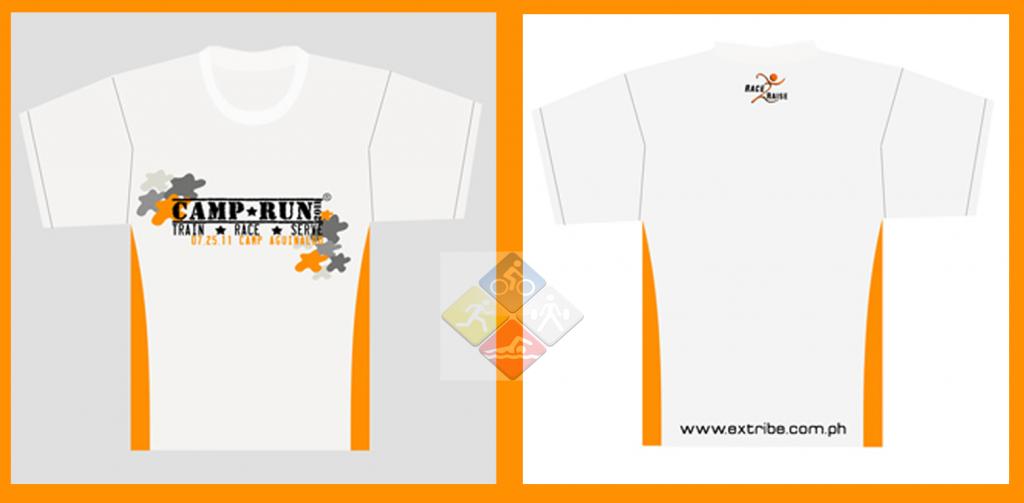 camp run 2011 shirt design