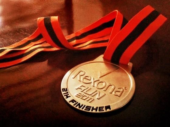 rexona-run-2011-medal