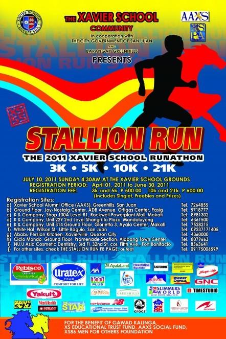 stallion-run-2011-poster