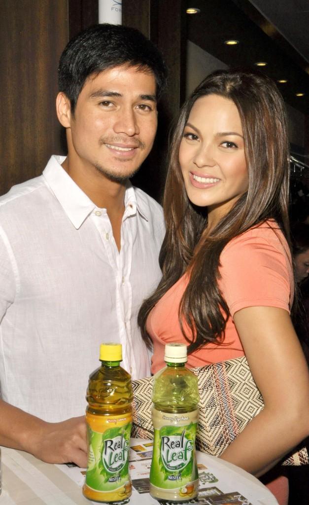 Piolo and KC at Plana Forma Manila
