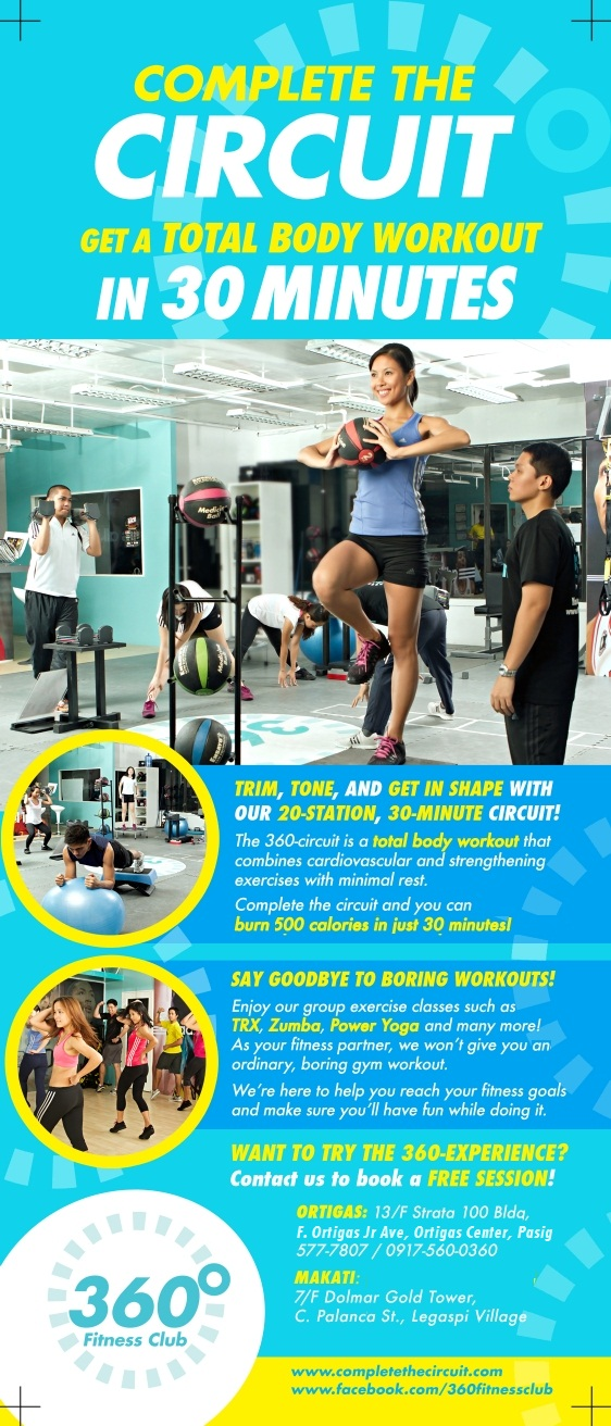 360 Fitness Club opens in Makati | Pinoy Fitness