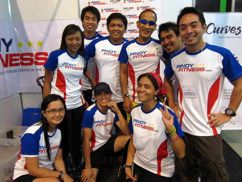 Pinoy Fitness Family and Friends