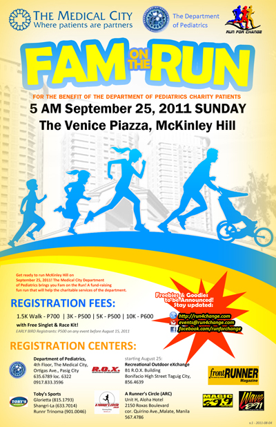 fam on the run 2011 results
