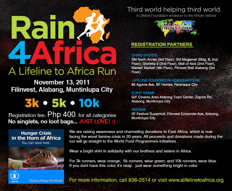 rain 4 africa 2011 results and photos