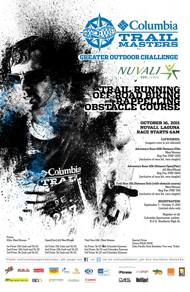 Columbia Adventure Race_Poster-2011