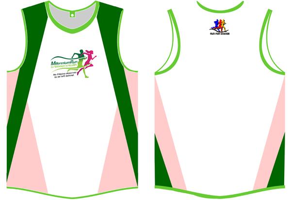 Millennium Run for Women's Health - Singlet 2011