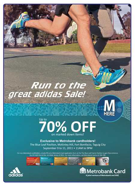 adidas sale metrobank run 2011