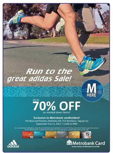 adidas sale metrobank run 2011
