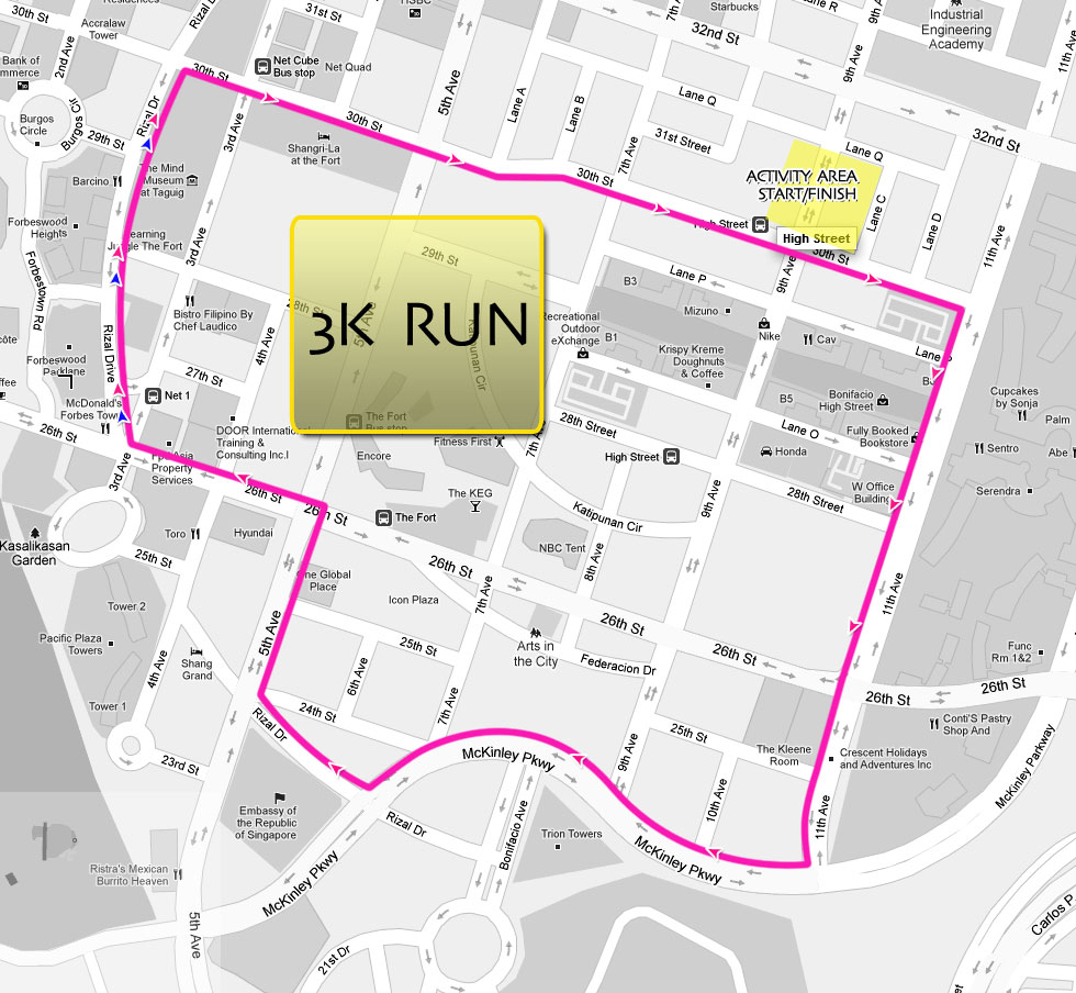 livestrong-2011-3k-map