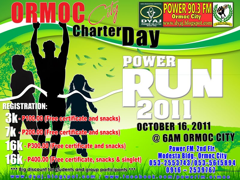 ormoc-city-power-run-revise-2011-poster