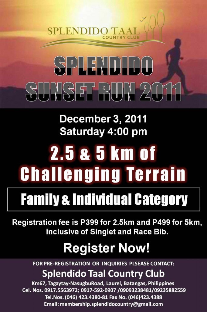 splendido-taal-sunset-run-2011-poster