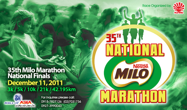 Milo Marathon 2011 Finals  results and photos