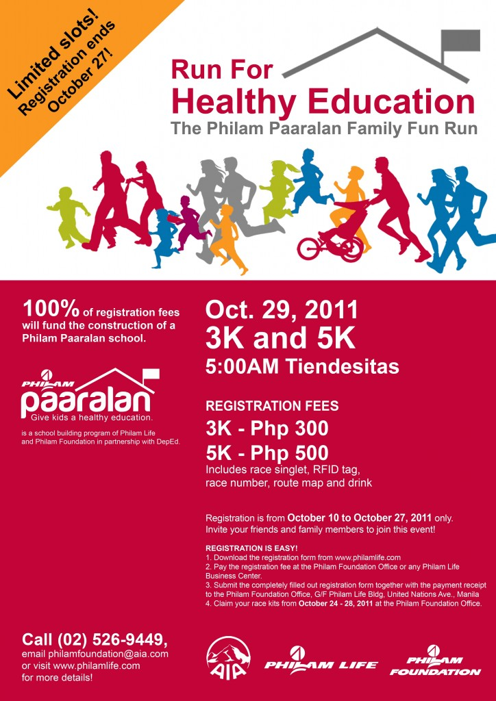 Run for Healthy Education_Oct27-2011 deadline