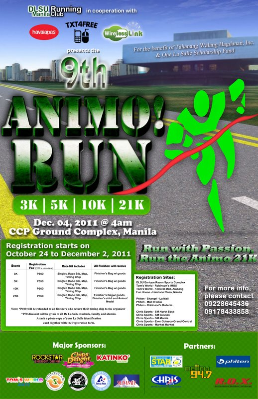 animo run 2011 results and photos