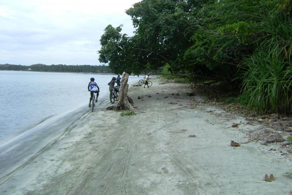 at the beach - bugtong bato