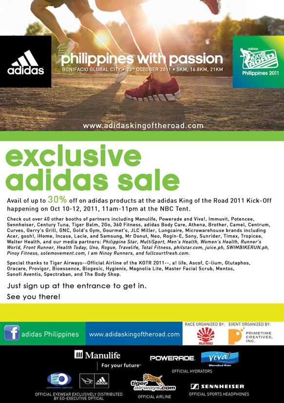 exclusive adidas sale 2011 kick-off