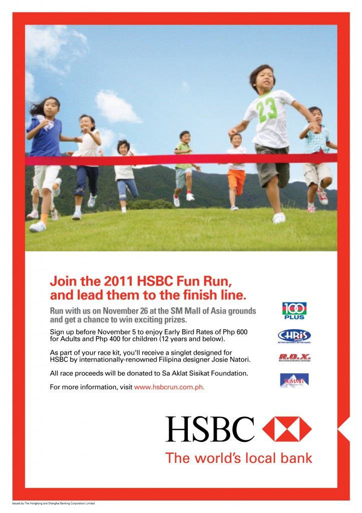 hsbc-fun-run-2011-poster