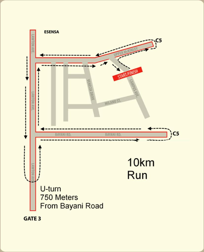 mchappy run - 10k map