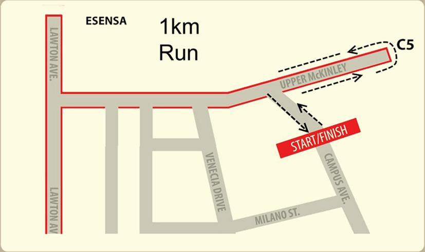 mchappy run - 1k map