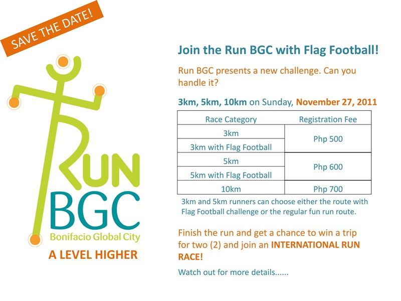 run bgc results and photos