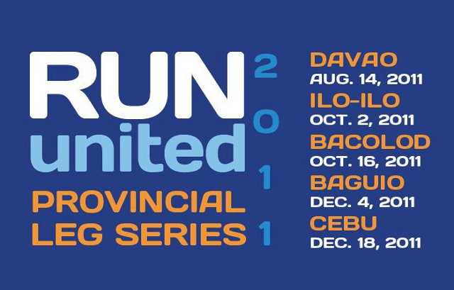 run united 2011 regional series davao iloilo bacolod baguio cebu