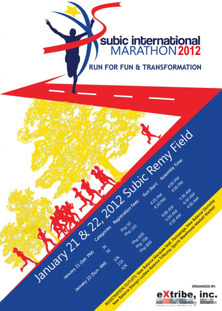 subic international marathon maps