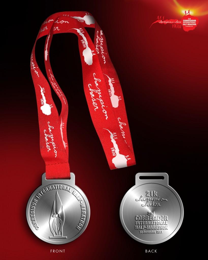 2nd CIHM 21k medal