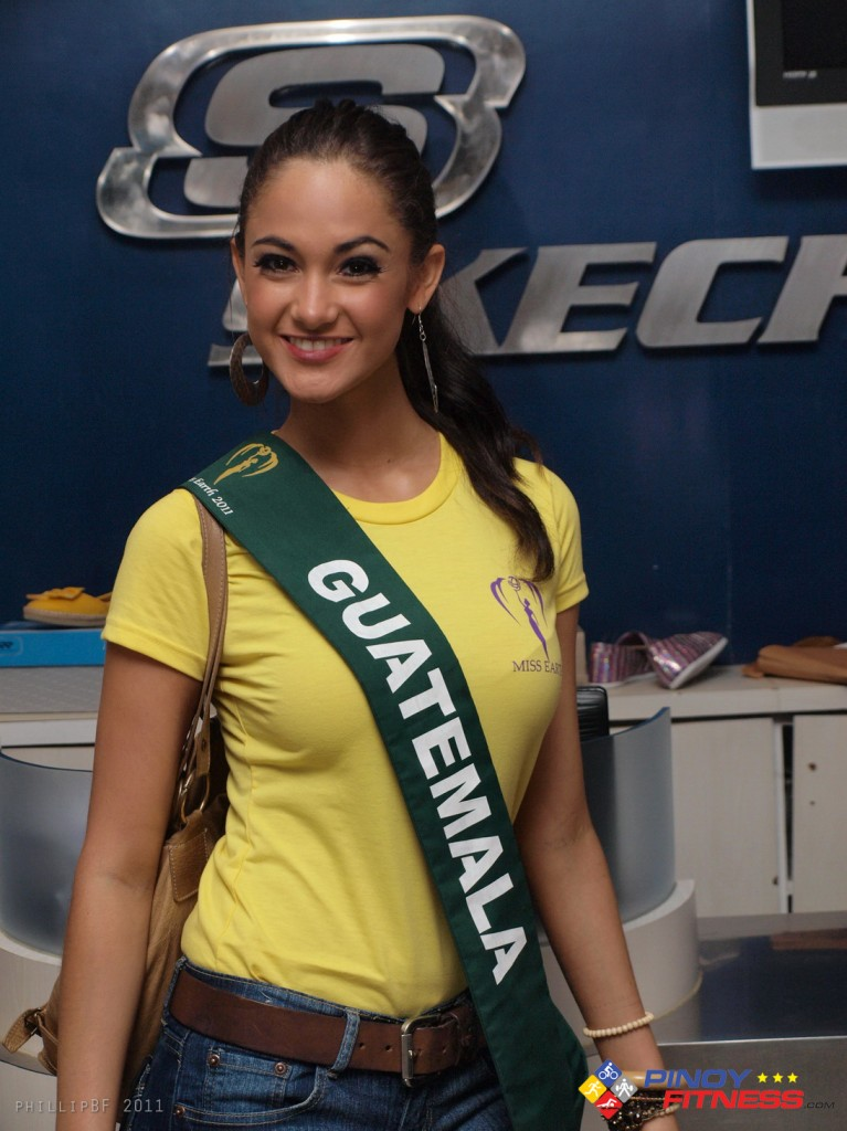skechers + miss earth 2011 - 1