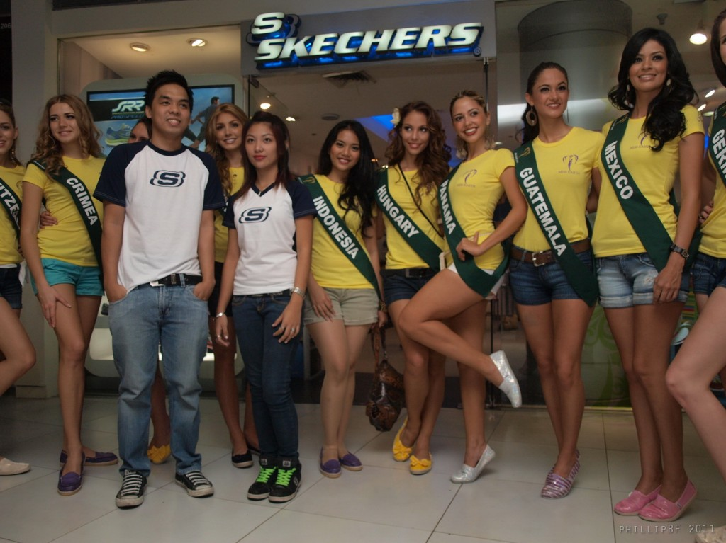 skechers + miss earth 2011 - 2