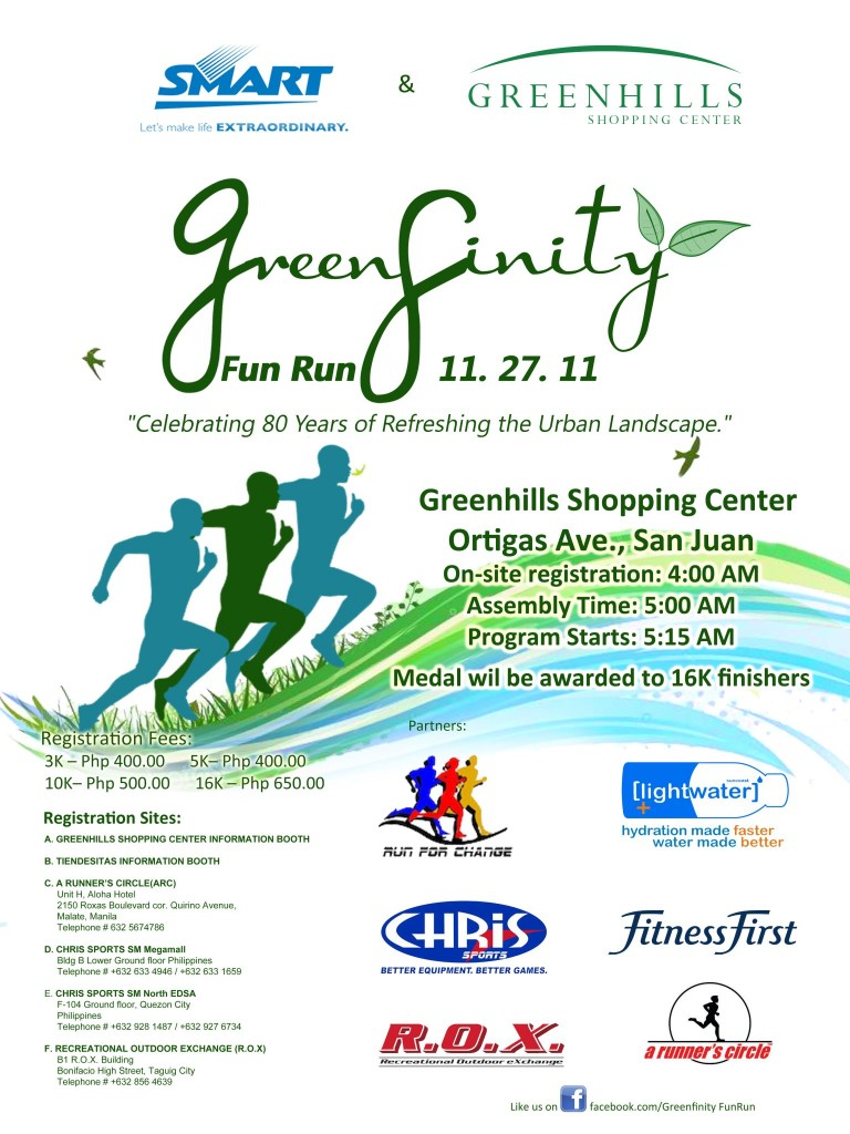 greenfinity run 2011 results and photos