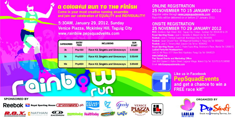 rainbow run 2012 race results and photos