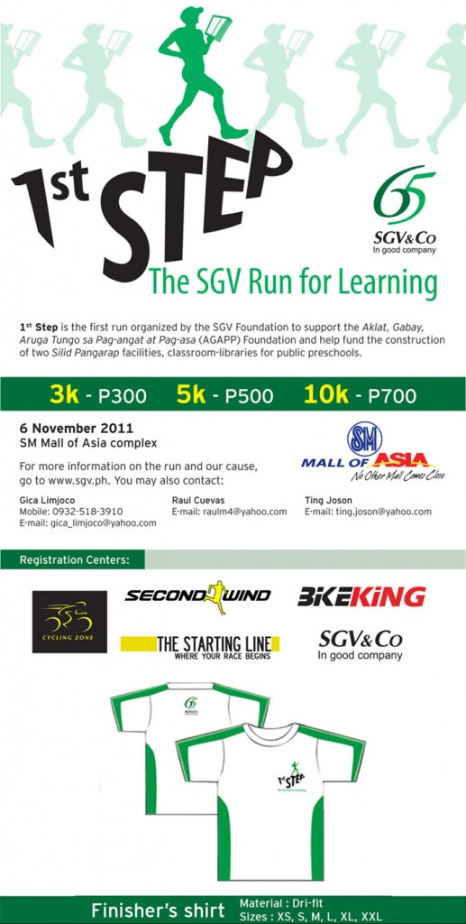 sgv run for learning 2011 results and photos