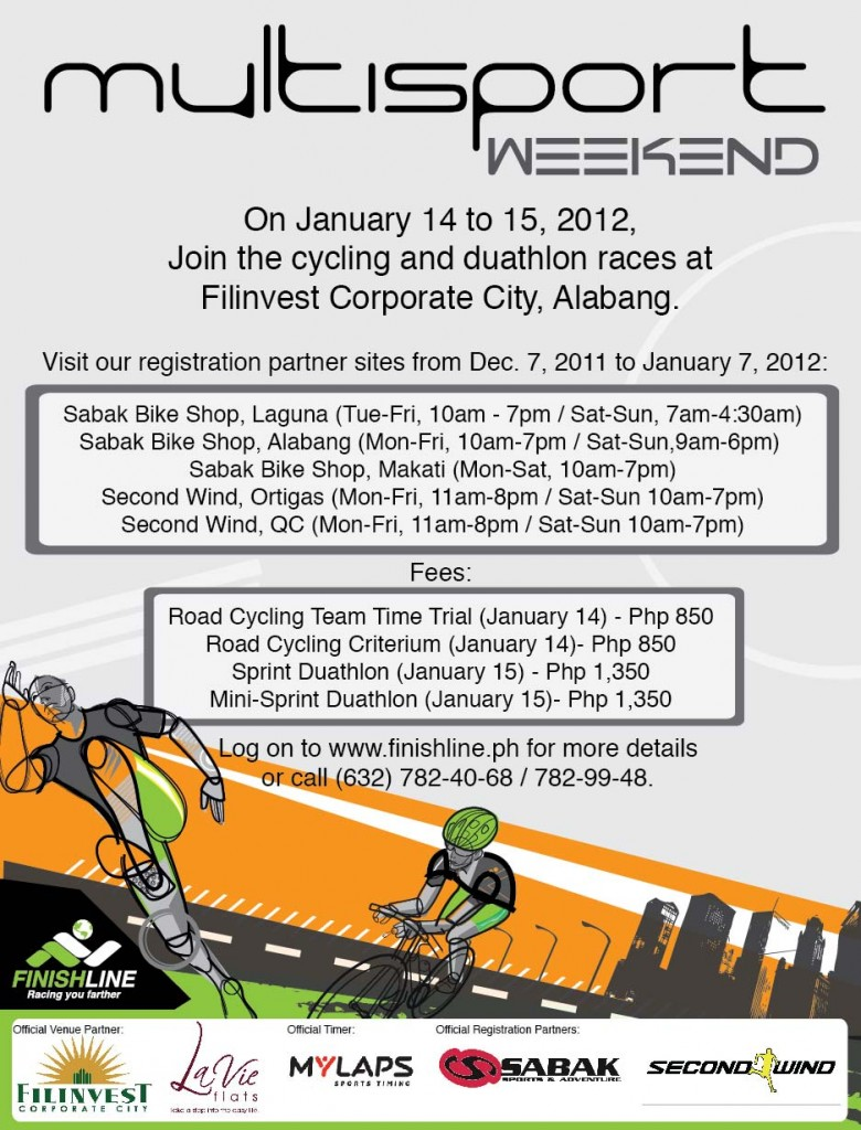 Multisport Weekend Leg 1 Poster 2012