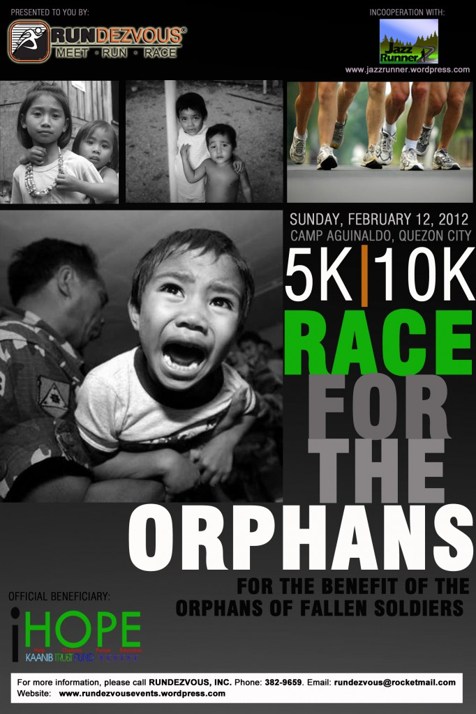 Race For The Orphans Poster 2012