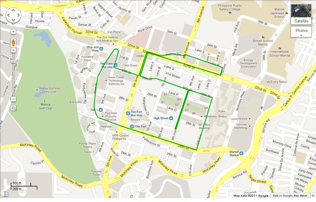 5k Todo Responde - Google Maps