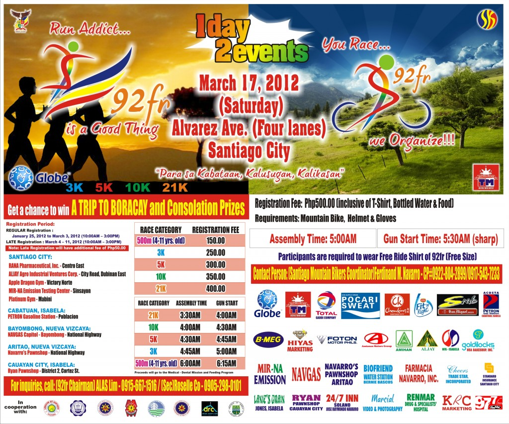 92fr-Fun Run-Bike-2012-poster
