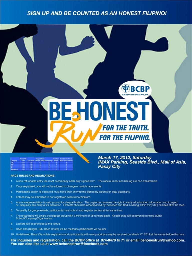 be-honest-fun-run-2012-poster