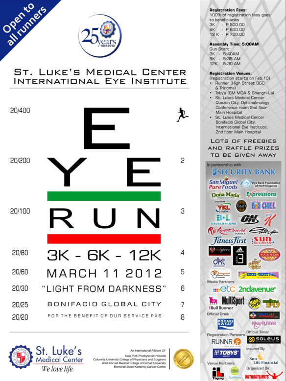 eye run 2012 results and photos