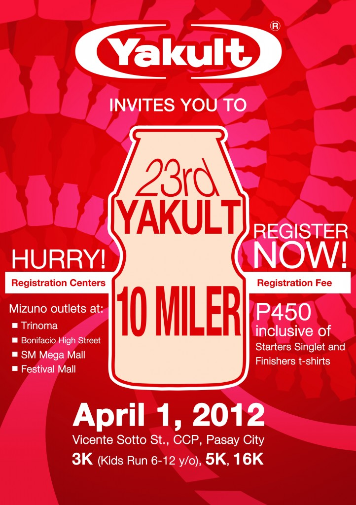 yakult run 2012 results and photos
