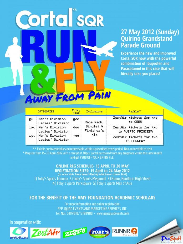 CORTAL fun run 2012 poster