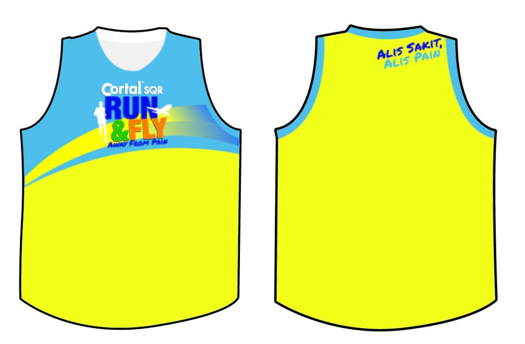 Cortal SQR Fun Run Singlet