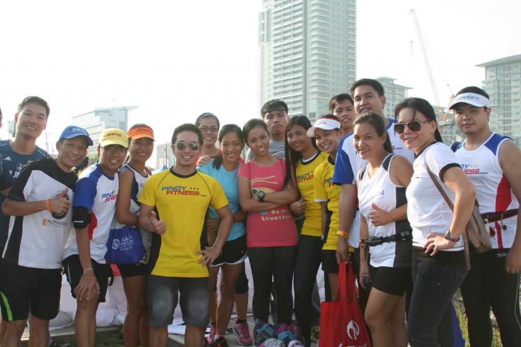 pinoy fitness at eye run 2012